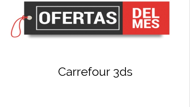 Carrefour 3ds
