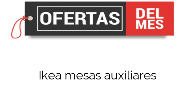 Ikea mesas auxiliares