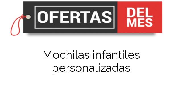 b815a593a ▷ Ofertas Mochilas infantiles personalizadas 【Comprar al mejor PRECIO】