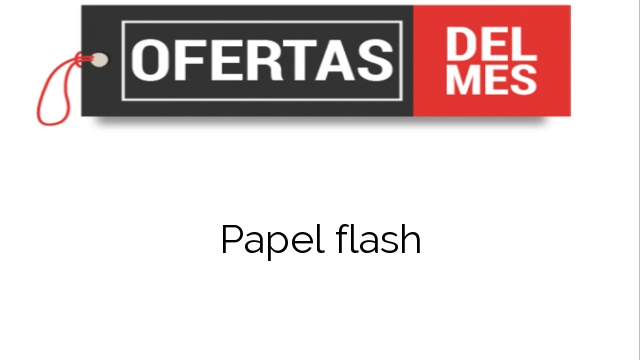 Papel flash
